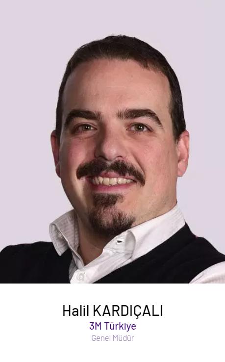 Halil Kardıçalı – 3M Türkiye Genel Müdürü ve Hukuk Direktörü