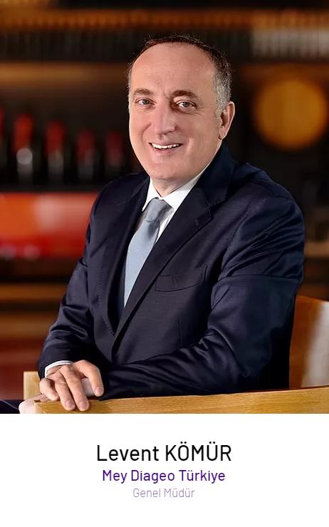 Levent Kömür – Mey | Diageo Türkiye Genel Müdürü