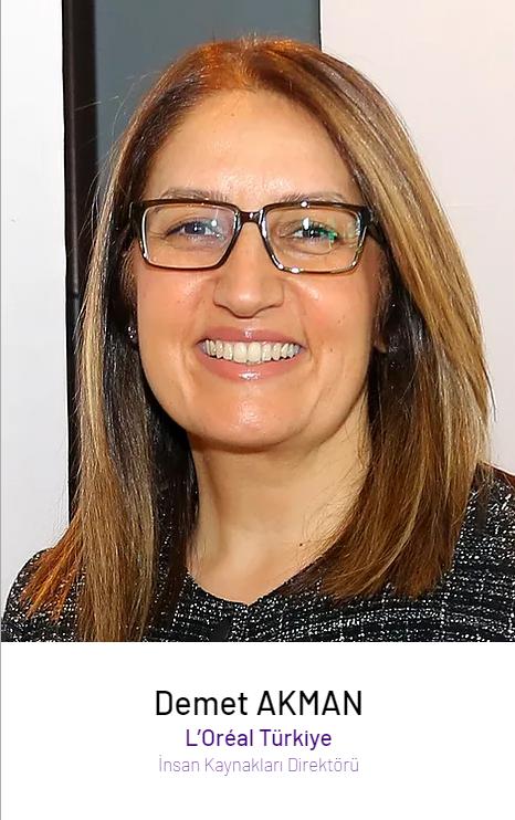 Demet Akman – L'Oréal Türkiye İnsan Kaynakları Direktörü